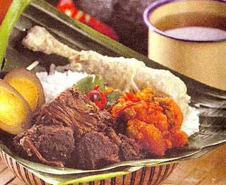 resep masakan tradisional - gudeg jogja