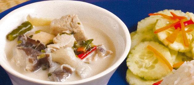resep sup ayam santan