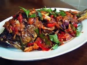 resep masakan ikan tongkol bakar sambal dabu